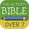 The Activity Bible for Kids over 7 – Bible Stories, Puzzles, Quiz, Differences and Pictures for Coloring for your Christian Family, Sunday School and Catechesis
